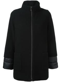 layered high neck coat Fay