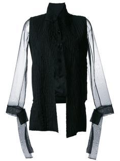 свободная прозрачная куртка  Nino Babukhadia