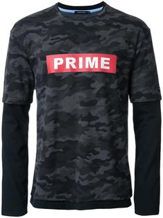 camouflage overlay effect T-shirt Guild Prime