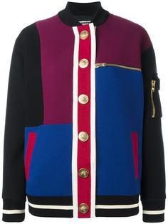 объемная куртка с панельным дизайном Fausto Puglisi