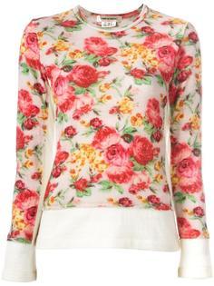 floral pattern jumper Comme Des Garçons