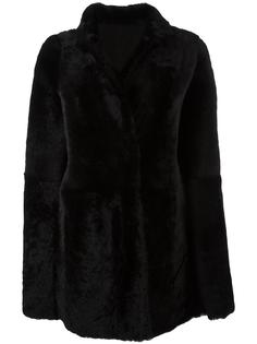 buttoned cape Drome