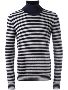 striped roll neck jumper Nuur