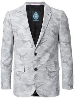 camouflage single breasted blazer Guild Prime