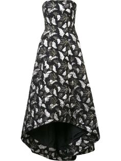 leaf embroidered gown Prabal Gurung