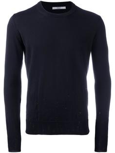 distressed crew neck jumper Nuur
