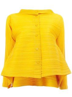 pleated peplum shirt Pleats Please By Issey Miyake