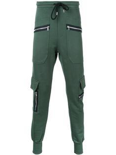 спортивные штаны с молниями Markus Lupfer