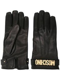 укороченные перчатки Moschino