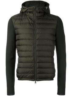 padded panel hoodie Moncler
