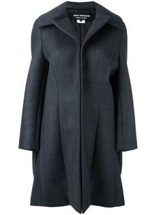 однобортное пальто Junya Watanabe Comme Des Garçons