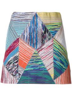 мини юбка с узором Missoni
