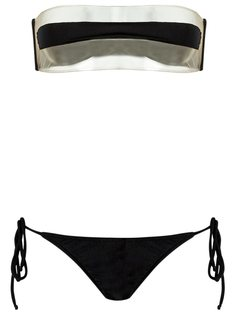 sheer bikini set Adriana Degreas