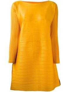 плиссированное платье свободного кроя Pleats Please By Issey Miyake