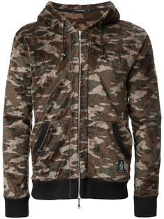 camouflage print hooded jacket Guild Prime