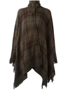 checked poncho  Ralph Lauren