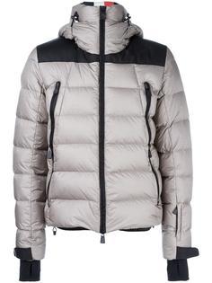 куртка-пуховик на молнии с капюшоном Moncler Grenoble