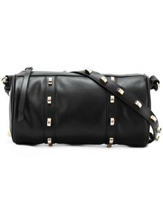 studded barrel shoulder bag Borbonese