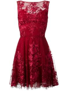 floral lace mini dress Zuhair Murad