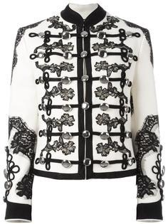 куртка с цветочной вышивкой  Dolce & Gabbana