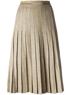 pleated midi skirt Céline Vintage