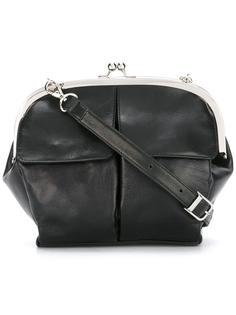сумка через плечо с передним карманом Yohji Yamamoto