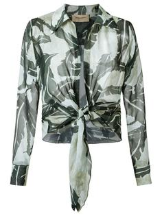 silk printed shirt Adriana Degreas