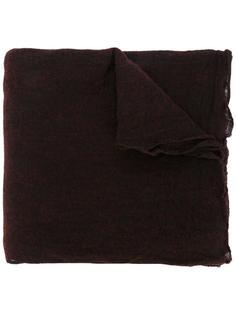 raw edge scarf  Faliero Sarti