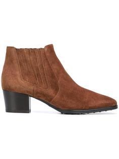 ботинки с заостренным носком Tod's