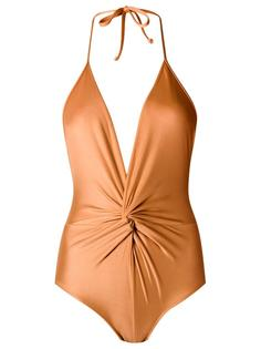 ruched swimsuit Adriana Degreas