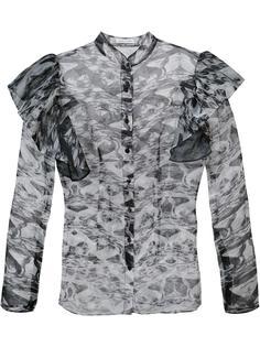 блузка с рюшами Sophie Theallet