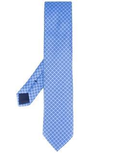 галстук с узором  Ermenegildo Zegna