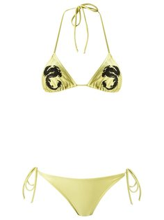 embroidered bikini set Adriana Degreas