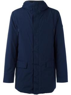 padded hooded zipped coat Armani Jeans