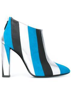 striped boots  Pollini