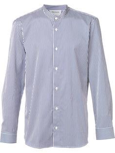 полосатая рубашка с воротником-стойкой Harmony Paris