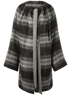 checked single breasted coat Vivienne Westwood Anglomania