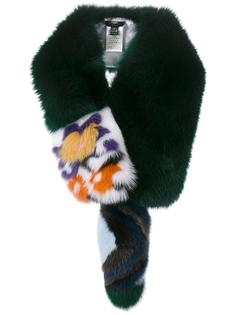 шарф из лисьего меха Fendi