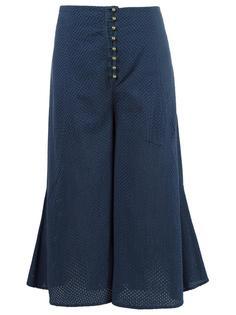 wide leg cropped trousers Andrea Bogosian