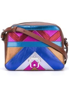 chevron print crossbody bag Paula Cademartori