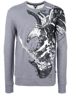 eagle print sweatshirt Just Cavalli