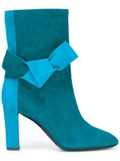 bow detail boots Pollini