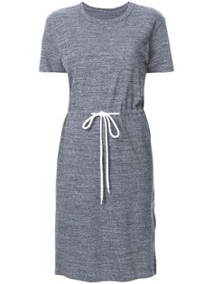 платье-футболка со шнуровкой на поясе Bassike