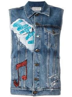 denim vest Faith Connexion