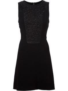 платье с вязаными крючком панелями Rag & Bone