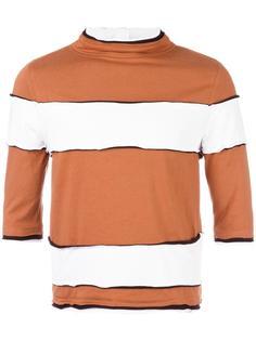 striped high neck T-shirt Telfar