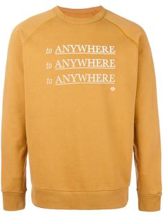 'To Anywhere' sweatshirt Roundel London