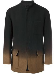 gradient tweed coat Issey Miyake Vintage