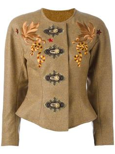 embroidered jacket Christian Lacroix Vintage