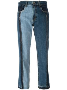 patchwork cropped jeans  Rag & Bone /Jean